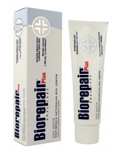 Biorepair Oral Care Plus Pasta do zębów wybielająca Pro White  75ml