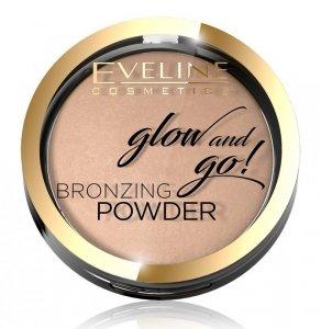 Eveline Glow & Go Bronzer wypiekany nr 01 Go Hawai  1szt