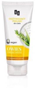 AA Vegan Odżywiający Peeling do ciała Owies  200ml