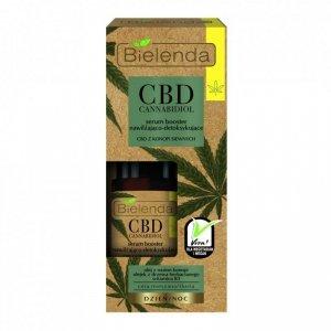 Bielenda CBD Cannabidiol Serum-Booster do twarzy nawilżająco-detoksykujące  15ml