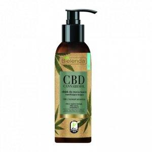 Bielenda CBD Cannabidiol Olejek do mycia twarzy nawilżająco-kojący  140ml