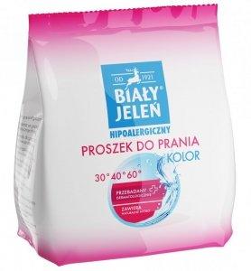 Biały Jeleń Proszek do prania hipoalergiczny Kolor  850g