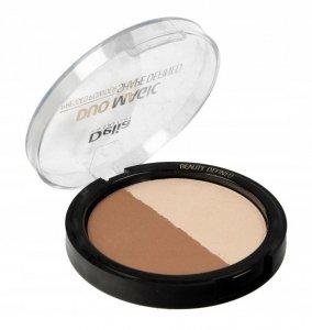 Delia Cosmetics Shape Defined Puder prasowany Duo Magic nr 102 Dark Glam  9g
