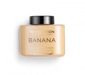 Makeup Revolution Puder sypki Luxury Banana Powder