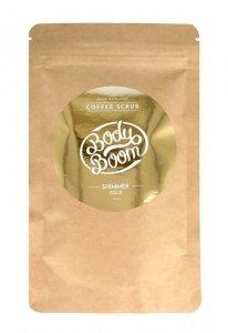 BodyBoom Peeling kawowy do ciała - Shimmer Gold  100g