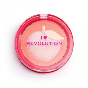 I Heart Revolution Rozświetlacz Fruity Blusher Peach