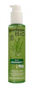 Garnier BIO Żel do mycia twarzy detoksykujący - Fresh Lemongrass  150ml