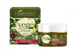 Bielenda Vege Skin Diet Krem Anti-Age + Detoks na dzień i noc  50ml