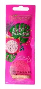 Bielenda Exotic Paradise Żel peelingujący do ciała 2w1 ujędrniający Pitaja  25g