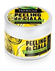 Perfecta Spa Peeling do ciała Yuzu Lime & Żeń-Szeń - odżywienie i regeneracja 225g