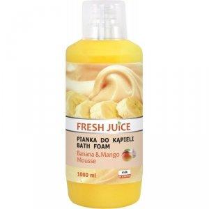 Fresh Juice Pianka do kąpieli Banana & Mango 1000ml