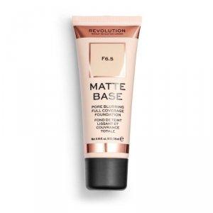 Makeup Revolution Podkład matujący do twarzy Matte Base Foundation F6.5  28 ml