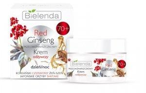 Bielenda Red Ginseng 70+ Przeciwzmarszczkowy Krem odżywczy na dzień i noc 50ml