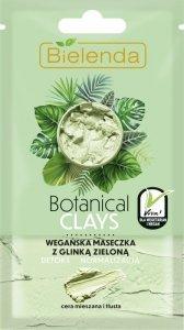 Bielenda Botanical Clays Zielona Glinka Wegańska Maseczka na twarz 8g
