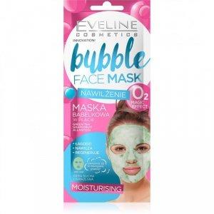 Eveline Bubble Face Maska bąbelkowa w płacie - Nawilżenie 1szt