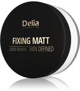 Delia Cosmetics Skin Defined Puder sypki Fixing Matt nr 41 White 20g