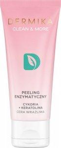 Dermika Clean & More Peeling enzymatyczny do cery wrażliwej 75ml