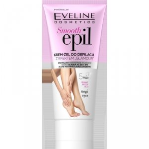 Eveline Smooth Epil Krem-żel do depilacji z efektem glamour - nogi,ręce 175ml