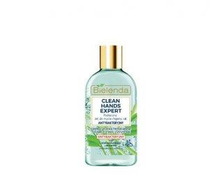 Bielenda Clean Hands Expert Podręczny Żel do mycia i higieny rąk antybakteryjny 100g