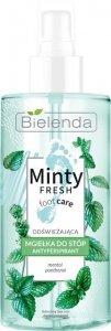 Bielenda Minty Fresh Foot Care Mgiełka do stóp odświeżająca - antyperspirant 150ml
