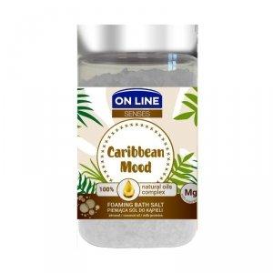 On Line Senses Pieniąca Sól do kąpieli Caribbean Mood 480g
