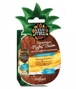 Farmona Tutti Frutti Balsam do ust regenerujący Ananas & Kokos  12ml