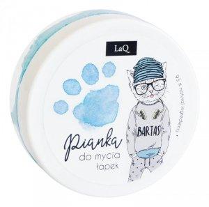 LaQ Pianka do mycia łapek dla dzieci - niebieska  50ml
