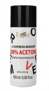 Delia Cosmetics Aceton kosmetyczny 100% ultra strong  100ml