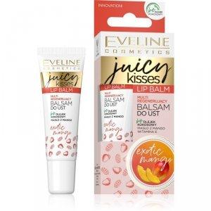 Eveline Juicy Kisses Balsam do ust multi regenerujący Exotic Mango  12ml
