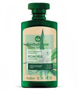 Farmona Herbal Care Regenerujący Szampon do włosów Konopie z proteinami  330ml