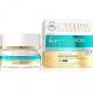 Eveline Bio Hyaluron Expert 50+ Liftingujący Krem-koncentrat wypełniający zmarszczki na dzień i noc  50ml