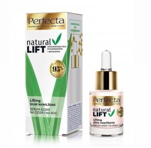 Perfecta Natural Lift Serum-Elixir Lifting-silne nawilżenie na dzień i noc 15ml