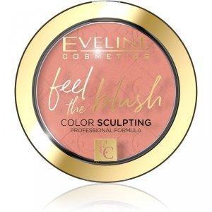 Eveline Feel the Blush Róż do policzków nr 02 Dahlia  1szt