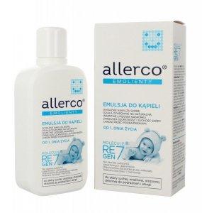Allerco Emolienty Emulsja do kąpieli dla dzieci i niemowląt dla skóry suchej,wrażliwej i atopowej  400ml