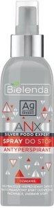 Bielenda ANX Silver Podo Expert Spray antyperspirant do stóp  150ml