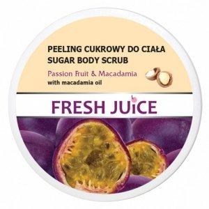 Fresh Juice Peeling cukrowy do ciała Passion Fruit & Macadamia  225ml