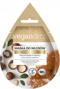Marion Vegan Drop Maska do włosów odżywcza Makadamia & Kakao  20ml