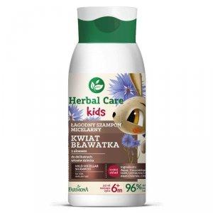 Farmona Herbal Care Kids Łagodny Szampon micelarny dla dzieci Kwiat Bławatka 300ml