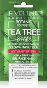Eveline Botanic Expert Tea Tree Żelowa Maseczka antybakteryjna głęboko oczyszczająca  7ml