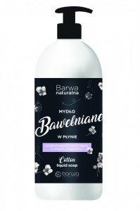 BARWA Naturalna Bawełna Mydło w płynie wygładzająco - nawilżające 500ml