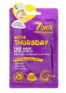 VILENTA 7 Days Maska na twarz odżywcza Active Thursday  28g