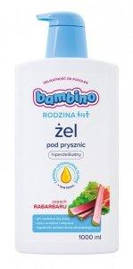 Bambino Rodzina Żel pod prysznic hiperdelikatny - Zapach Rabarbaru 1000ml