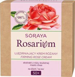 Soraya Rosarium Różany Krem ujędrniający 50+ na dzień i noc 50ml