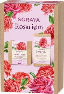 Soraya Zestaw prezentowy Rosarium 40+ ( krem na dz/n 50ml+krem pod oczy 15ml)