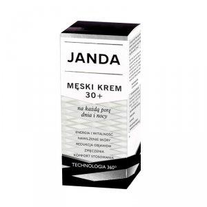 JANDA Men Męski Krem 30+ na każdą porę dnia i nocy 50ml