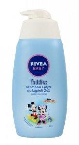 Nivea Baby Toddies Szampon i Płyn do kąpieli 2w1 do skóry normalnej  Myszka Miki 500ml