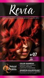 Revia Szampon koloryzujący do włosów nr 07 Rubin  1op.