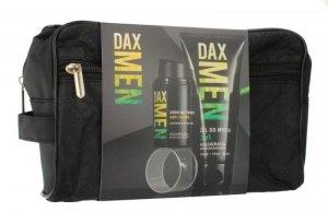 Dax Cosmetics Men Zestaw prezentowy - kosmetyczka (krem anti-aging 50ml+żel 3w1 180ml)