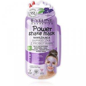 Eveline Power Shake Mask Nawilżająca Bio Maseczka z probiotykami 8w1  10ml