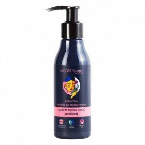 Vis Plantis Gift Of Nature Kremowa Emulsja do mycia twarzy do cery wrażliwej  150ml